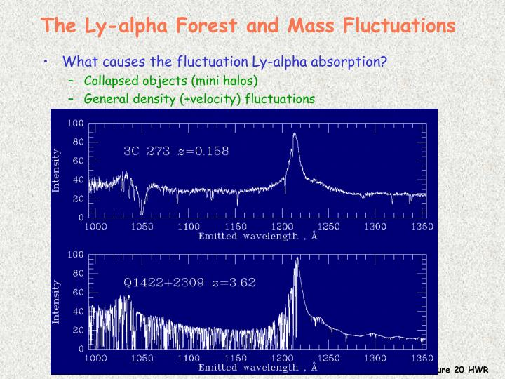 The Ly-alpha Forest and Mass Fluctuations