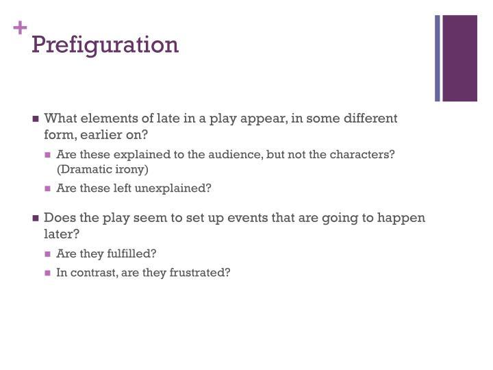 Prefiguration