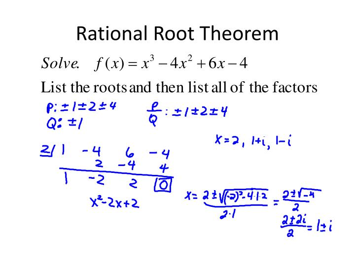 Rational Root Theorem
