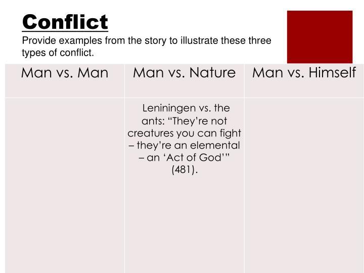 Leiningen Versus the Ants - American Literature