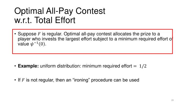 Optimal All-Pay Contest