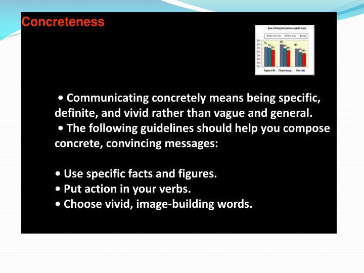 Concreteness