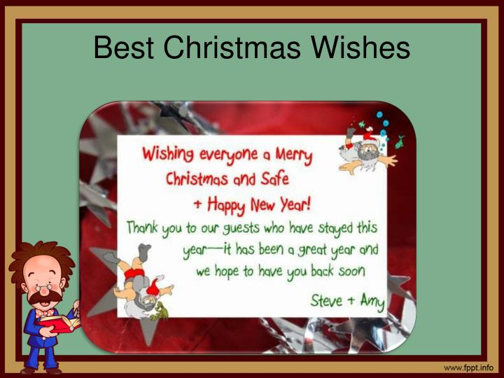 Best Christmas Wishes