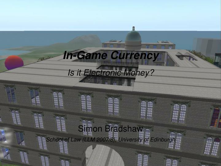 In-Game Currency