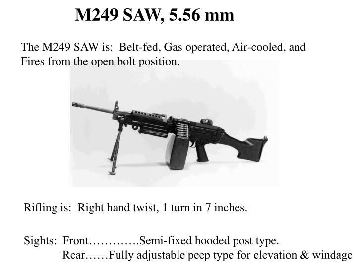 M249 SAW, 5.56 mm