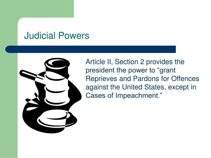 Judicial Powers