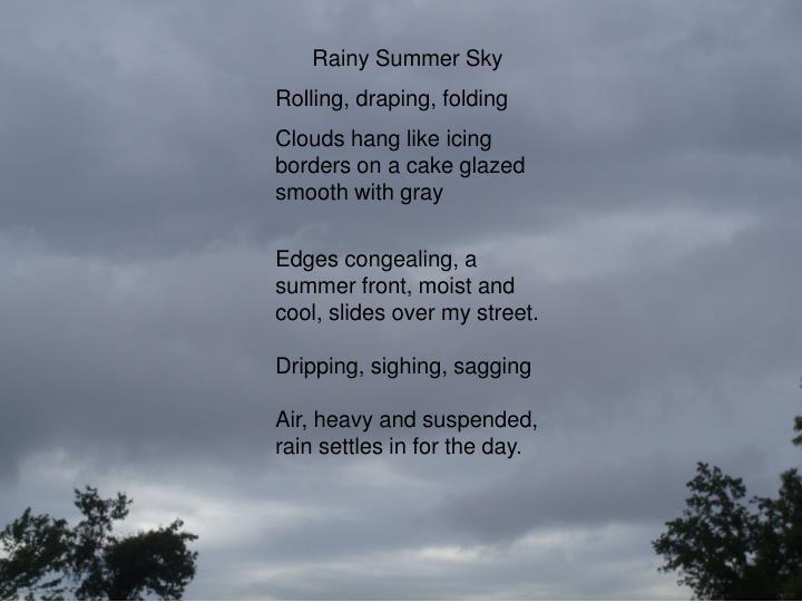 Rainy Summer Sky