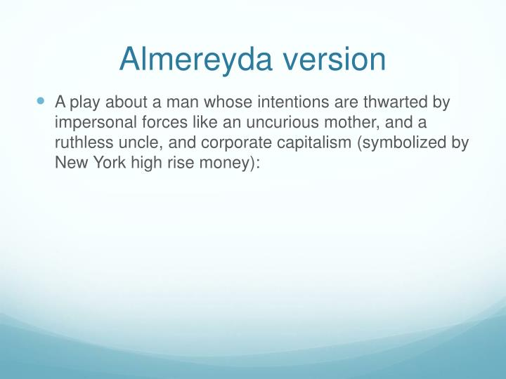 Almereyda version