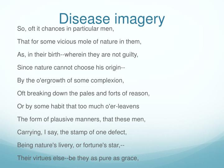 Disease imagery