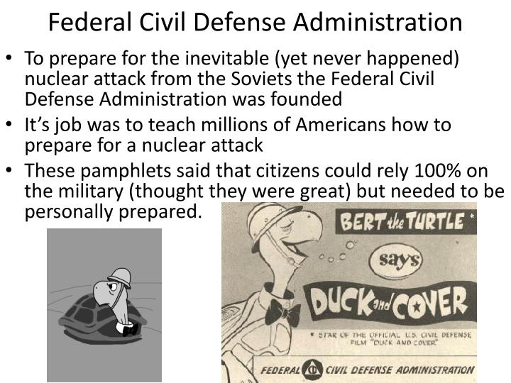 Federal Civil Defense Administration