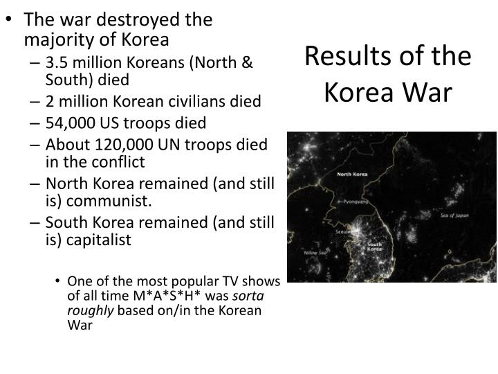 Results of the Korea War