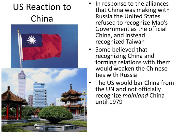 US Reaction to China