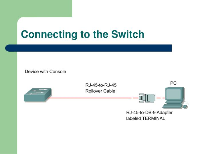 Connecting to the Switch