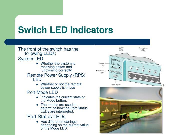 Switch LED Indicators