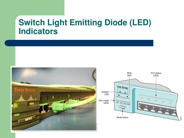 Switch Light Emitting Diode (LED) Indicators