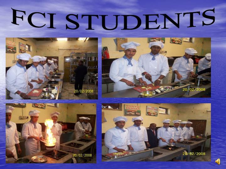 FCI STUDENTS