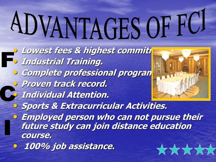 Lowest fees & highest commitment.