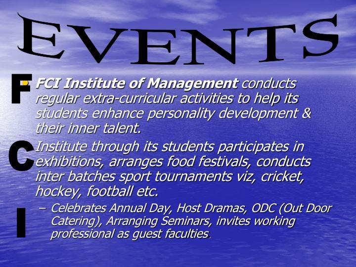 FCI Institute of Management