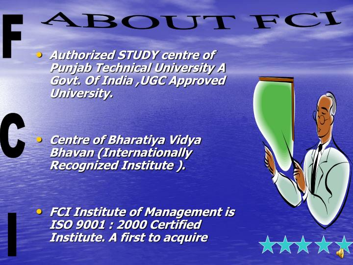 Authorized STUDY centre of Punjab Technical University A Govt. Of India ,UGC Approved University.