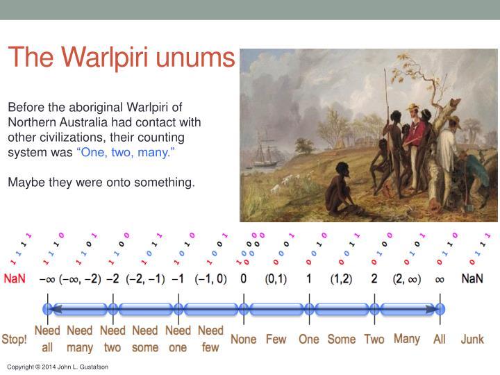 The Warlpiri unums