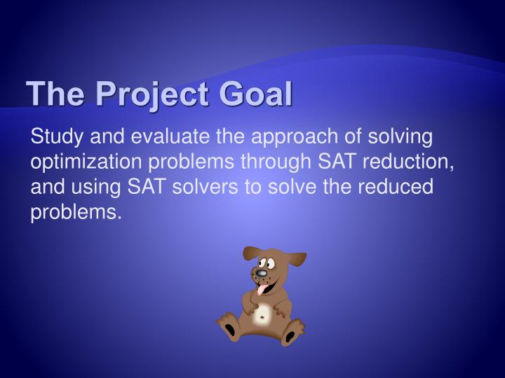 The Project Goal
