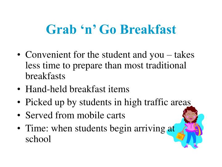 Grab 'n' Go Breakfast