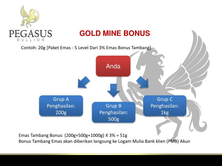 GOLD MINE BONUS
