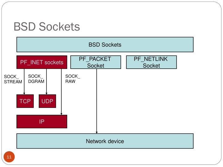 BSD Sockets