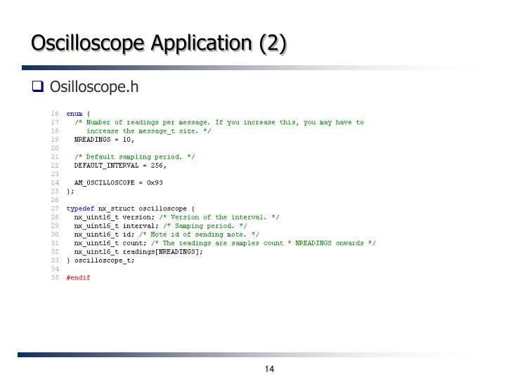 Oscilloscope Application (2)