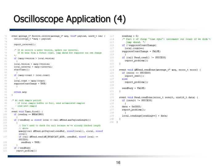 Oscilloscope Application (4)