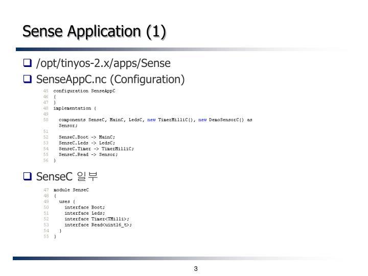 Sense Application (1)
