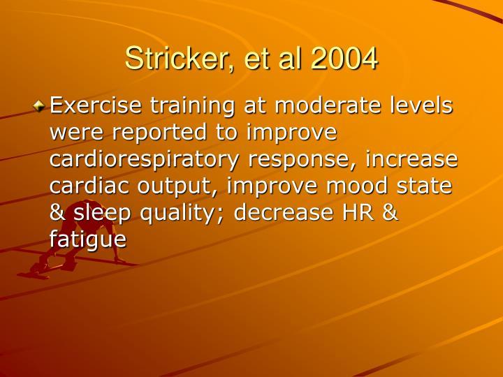 Stricker, et al 2004