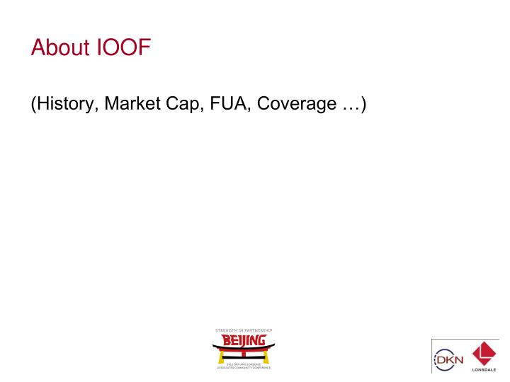 About ioof