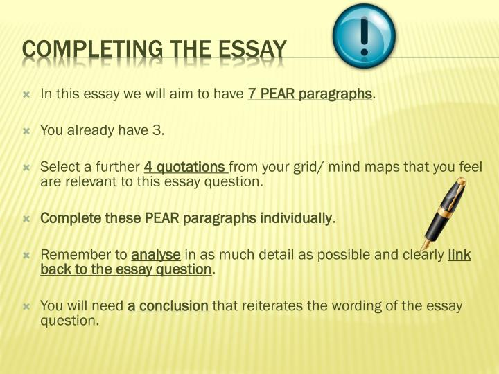 Controlling Idea Essay Example