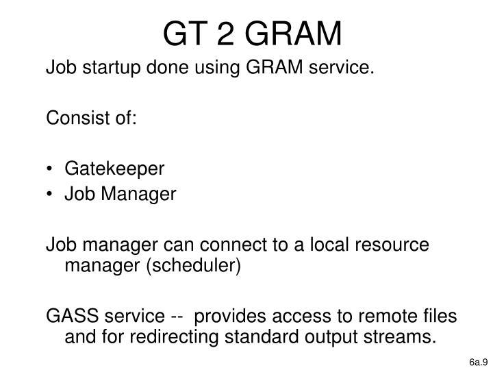 GT 2 GRAM