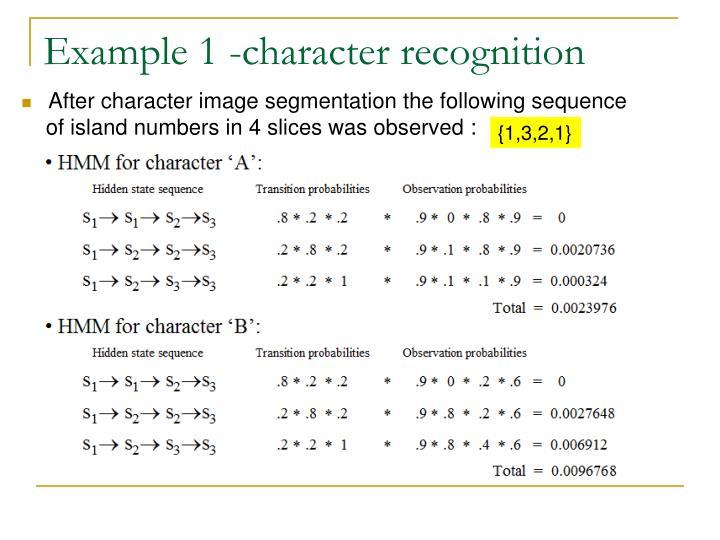 Example 1 -