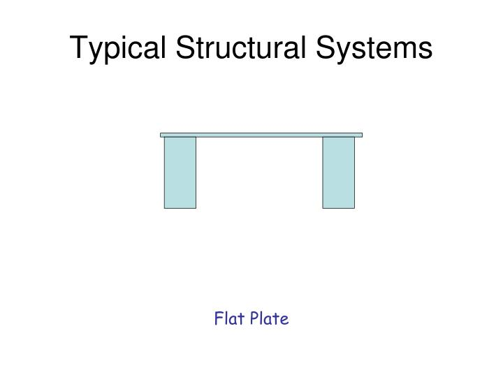 Typical Structural Systems