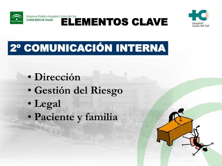 ELEMENTOS CLAVE