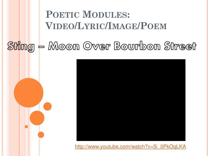 Sting – Moon Over Bourbon Street