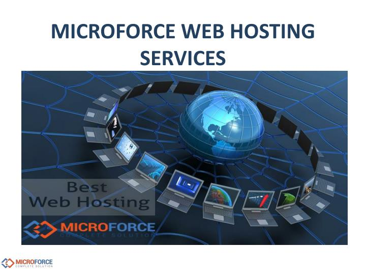 Microforce web hosting services