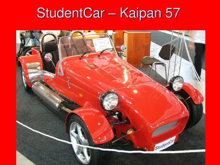 StudentCar – Kaipan 57