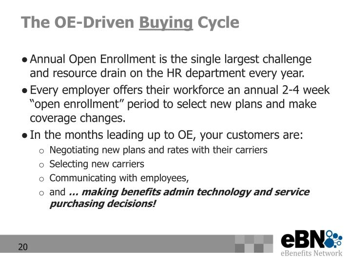 The OE-Driven