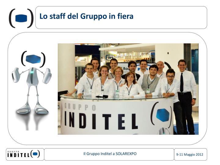 Lo staff del Gruppo