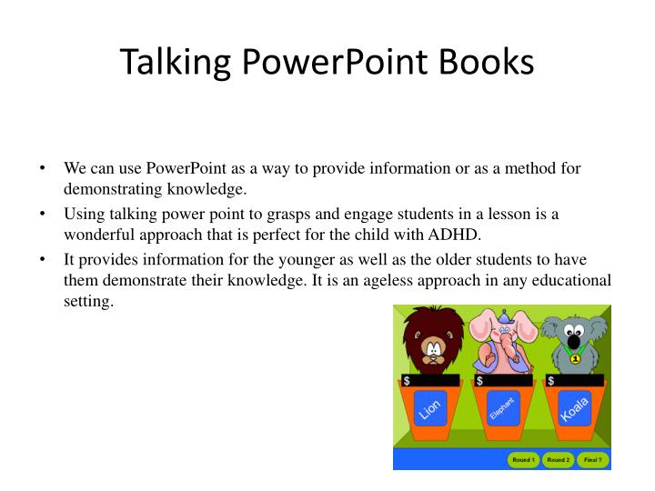 Talking PowerPoint Books