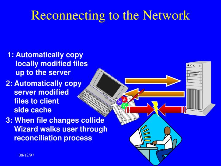 Reconnecting to the Network
