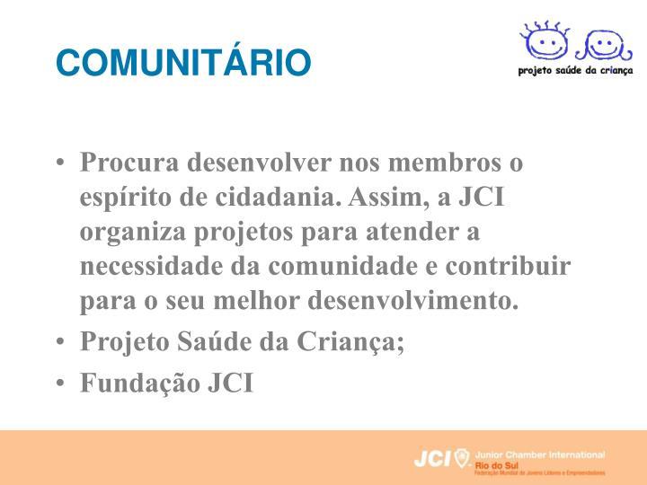 COMUNITÁRIO