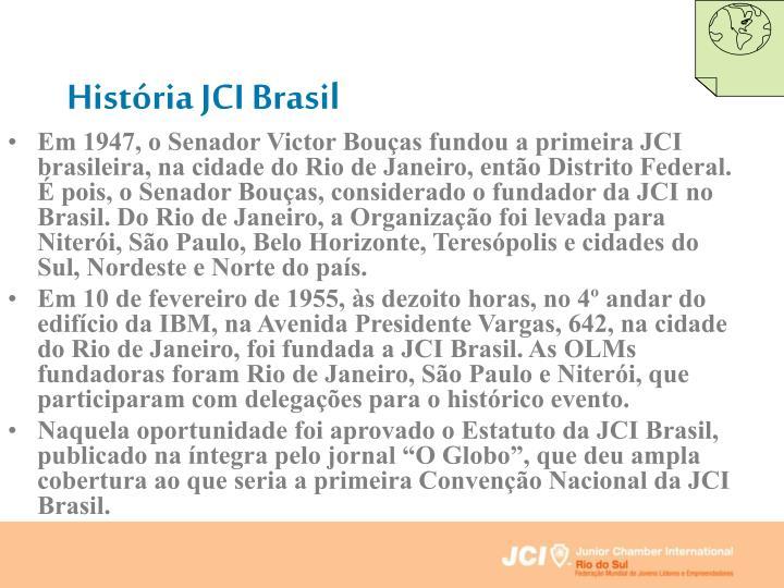 História JCI Brasil