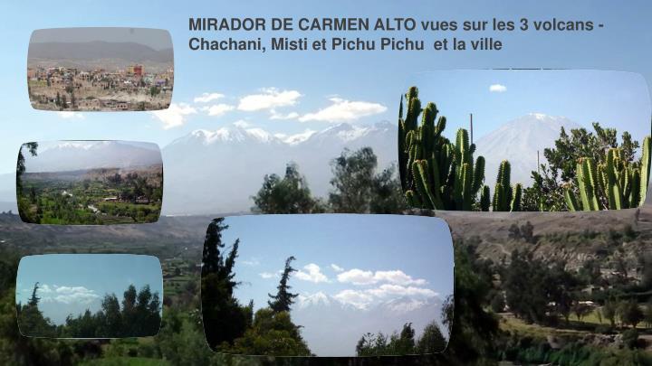 MIRADOR DE CARMEN ALTO