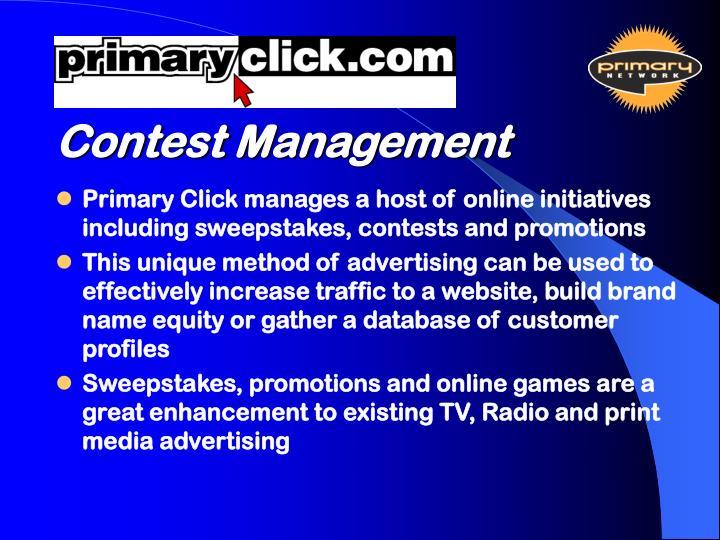 Contest Management