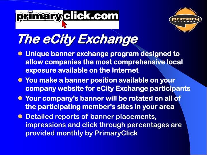 The eCity Exchange